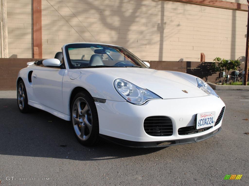 2005 Carrara White Porsche 911 Turbo S Cabriolet 41112320 Gtcarlot Com Car Color Galleries