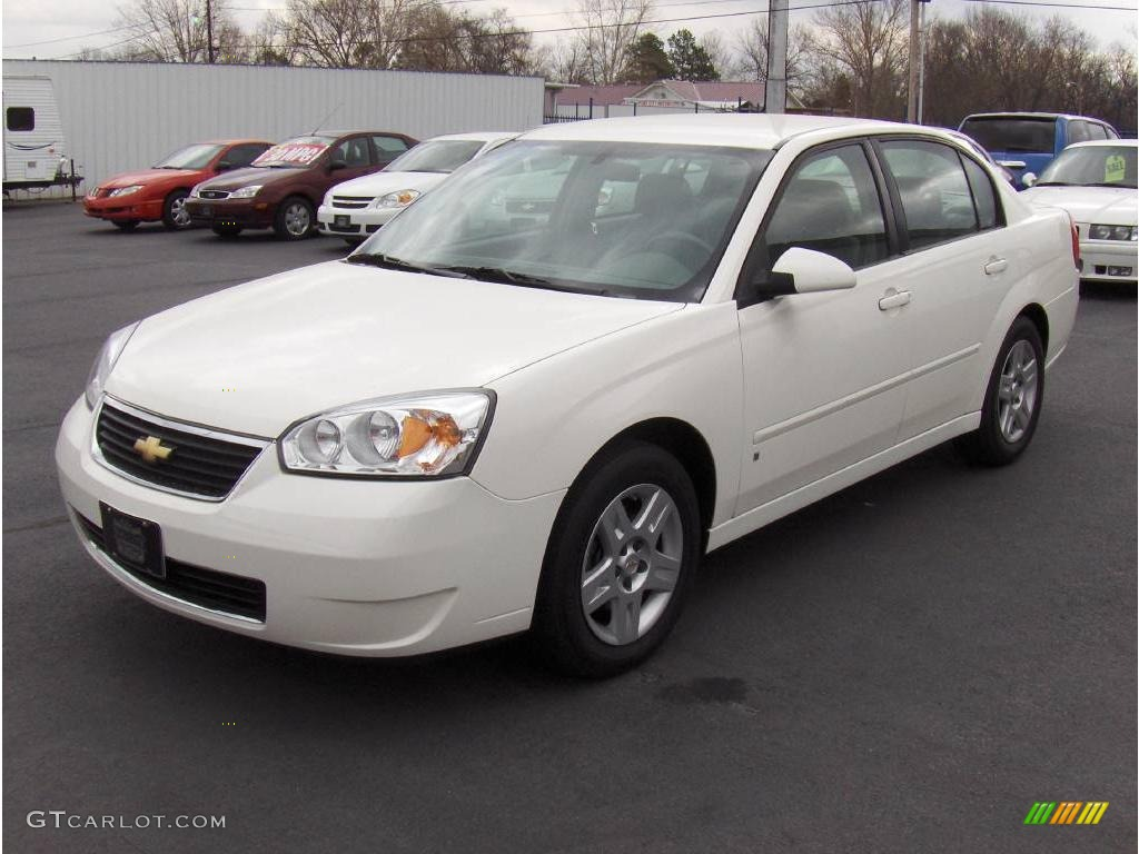 chevy malibu white - photo #2