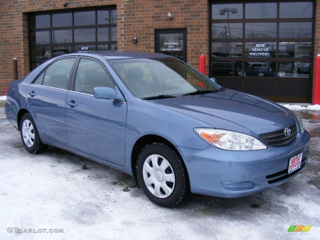 2002 catalina blue metallic toyota camry le 41111686 car color galleries. Black Bedroom Furniture Sets. Home Design Ideas