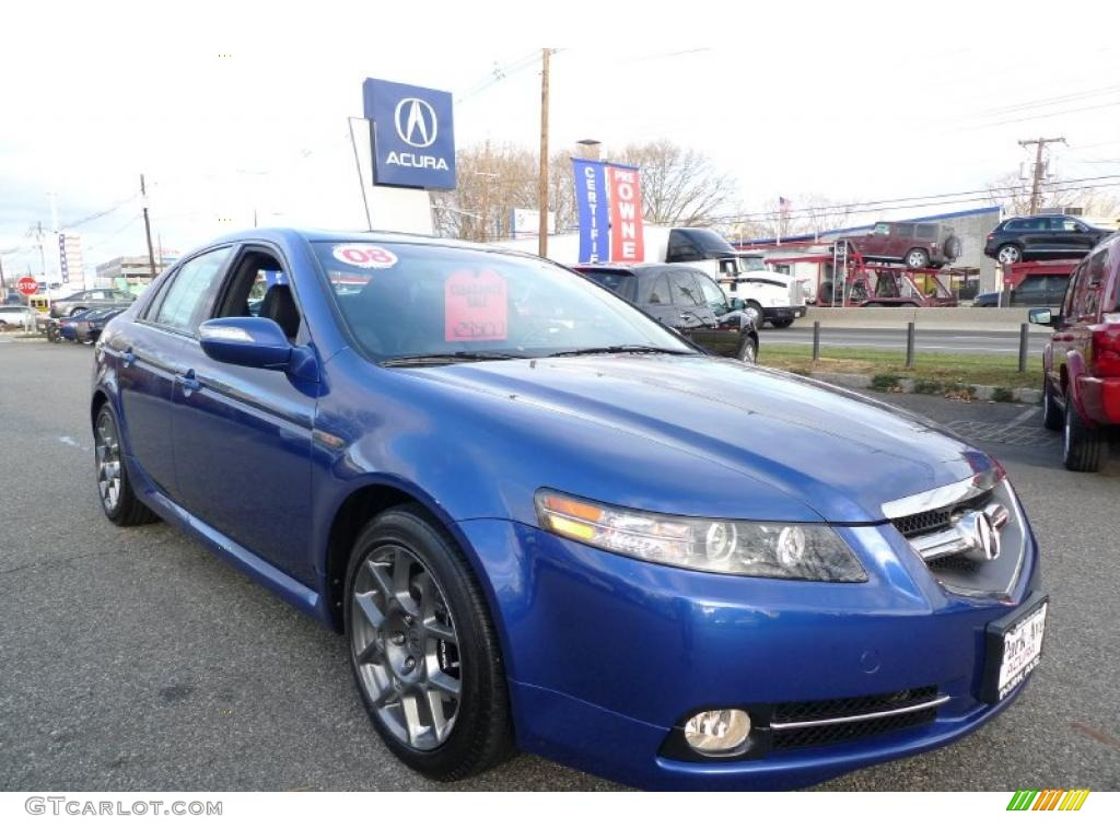 kinetic blue pearl 2008 acura tl 3 5 type s exterior photo 41166696. Black Bedroom Furniture Sets. Home Design Ideas