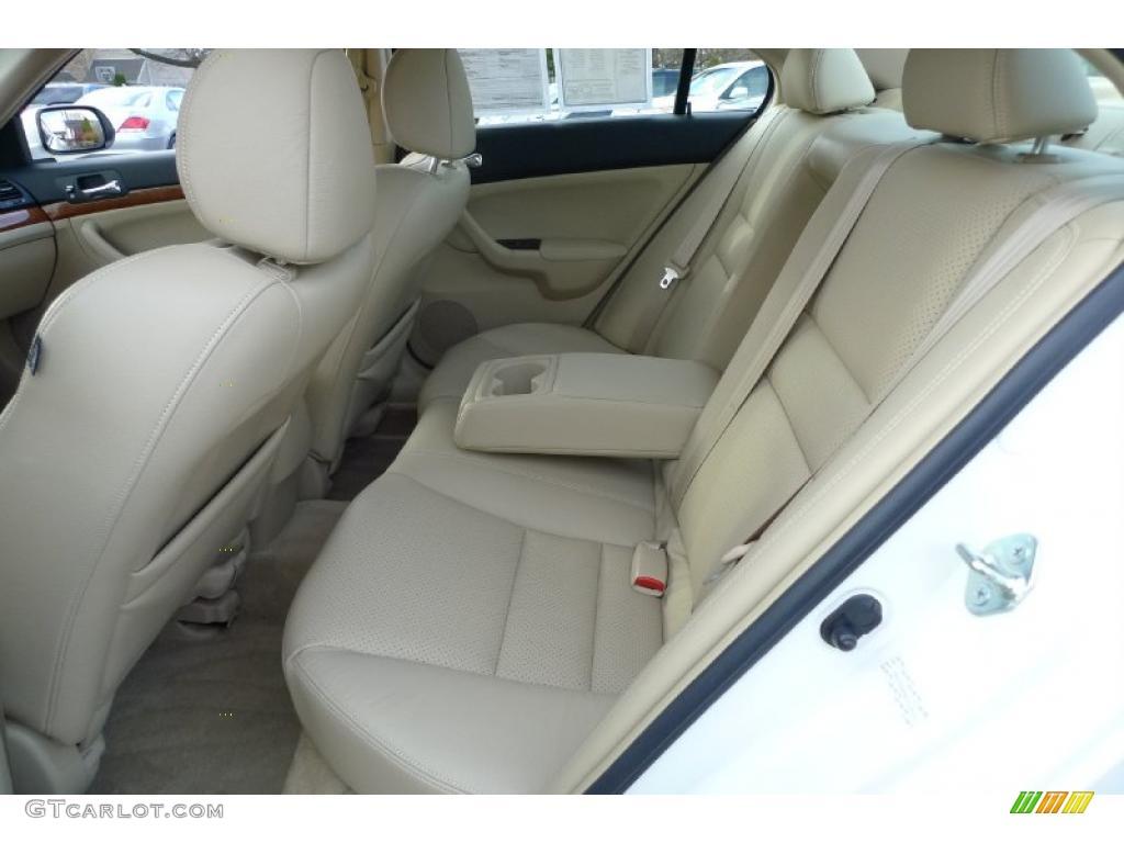Parchment Interior 2008 Acura TSX Sedan Photo #41170306   GTCarLot.com