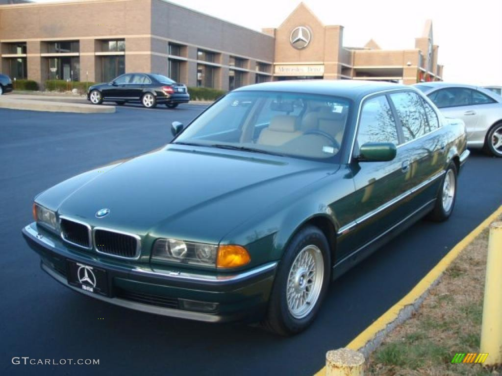 oxford green metallic 1998 bmw 7 series 740il sedan. Black Bedroom Furniture Sets. Home Design Ideas
