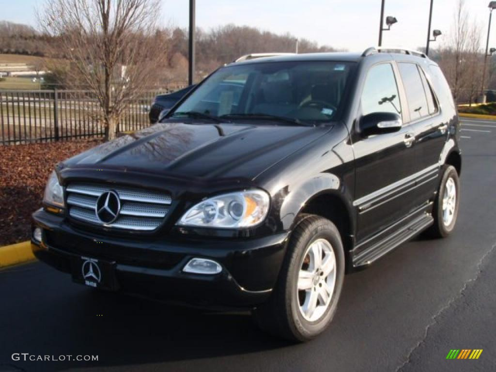 2005 black mercedes benz ml 350 4matic 41112171 photo 11 for 2005 mercedes benz suv