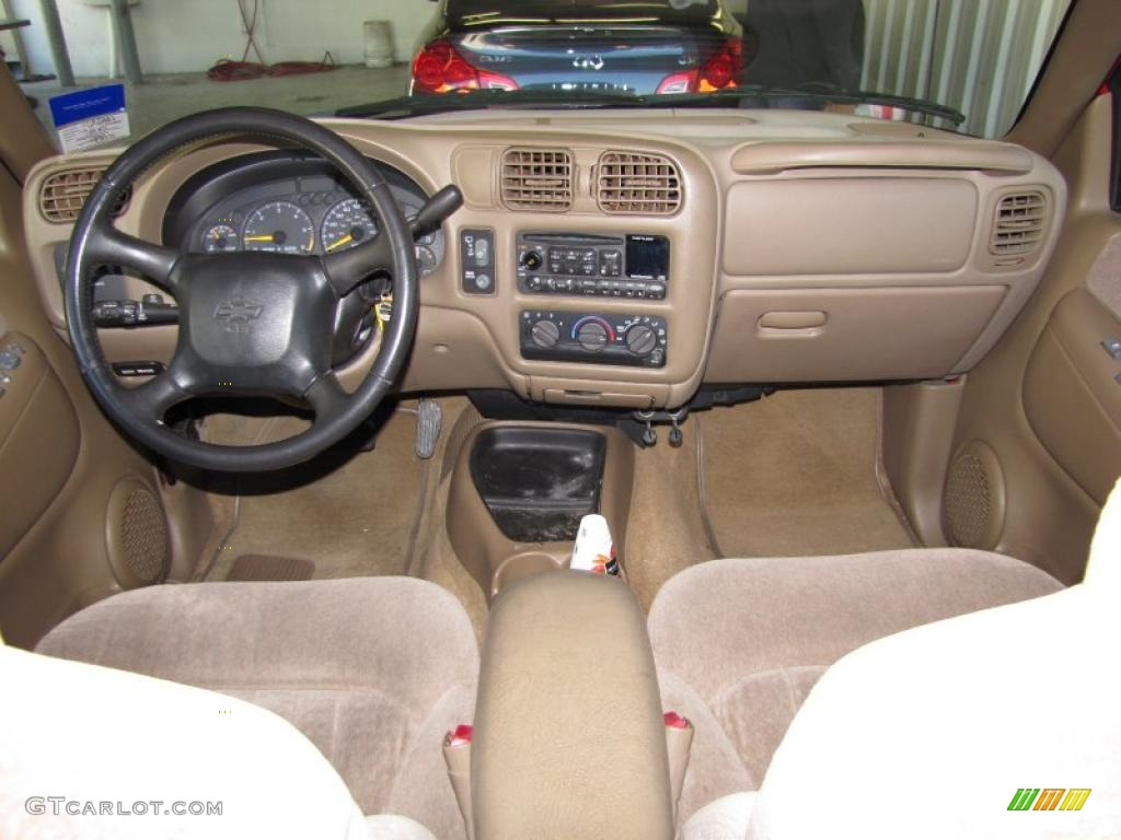 Beige Interior 1999 Chevrolet Blazer Standard Blazer Model Photo