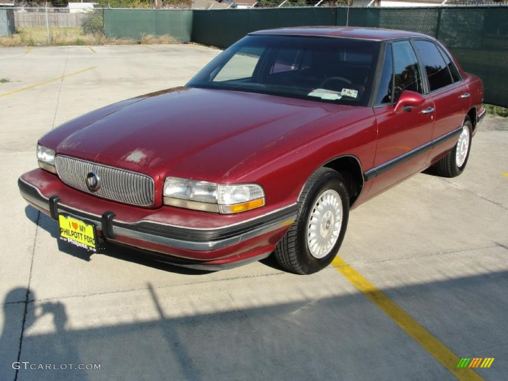 Ruby red metallic 1995 buick lesabre custom exterior photo 41176362