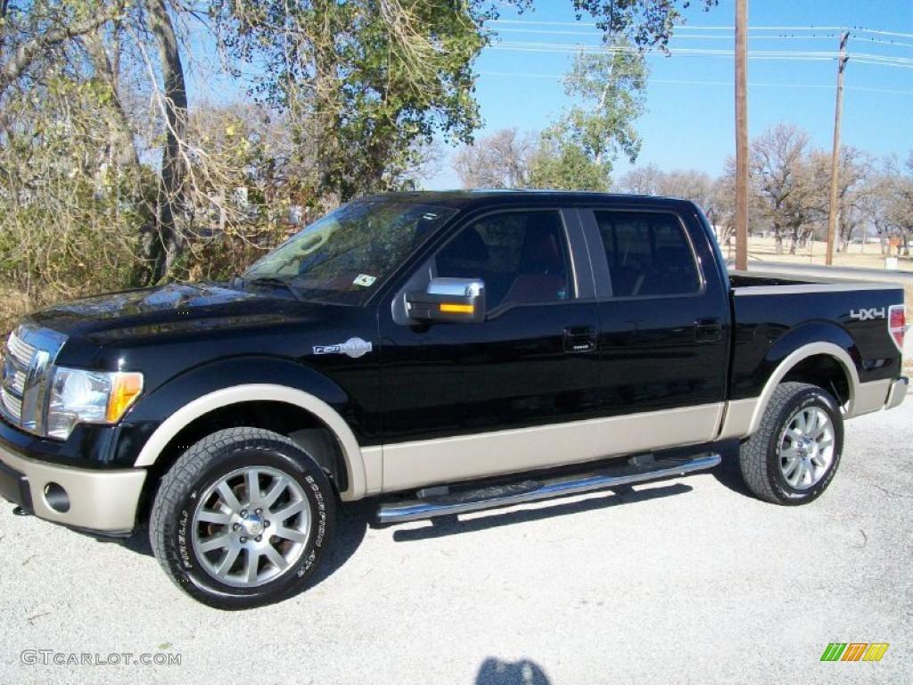 2009 Black Ford F150 King Ranch Supercrew 4x4 41177235 Gtcarlot 2004 F 150