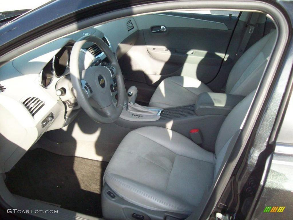 Titanium Gray Interior 2008 Chevrolet Malibu LT Sedan ...
