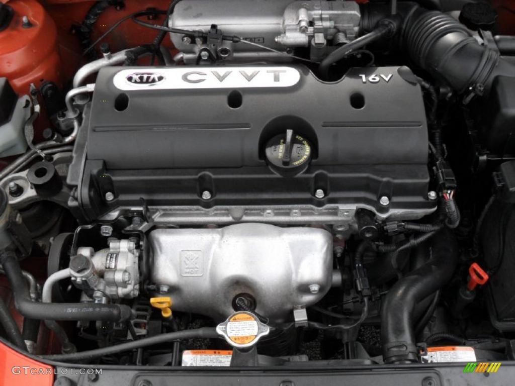 2009 Kia Rio Lx Sedan 1 6 Liter Dohc 16