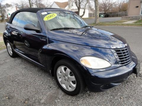 2005 chrysler pt cruiser touring convertible data info. Black Bedroom Furniture Sets. Home Design Ideas
