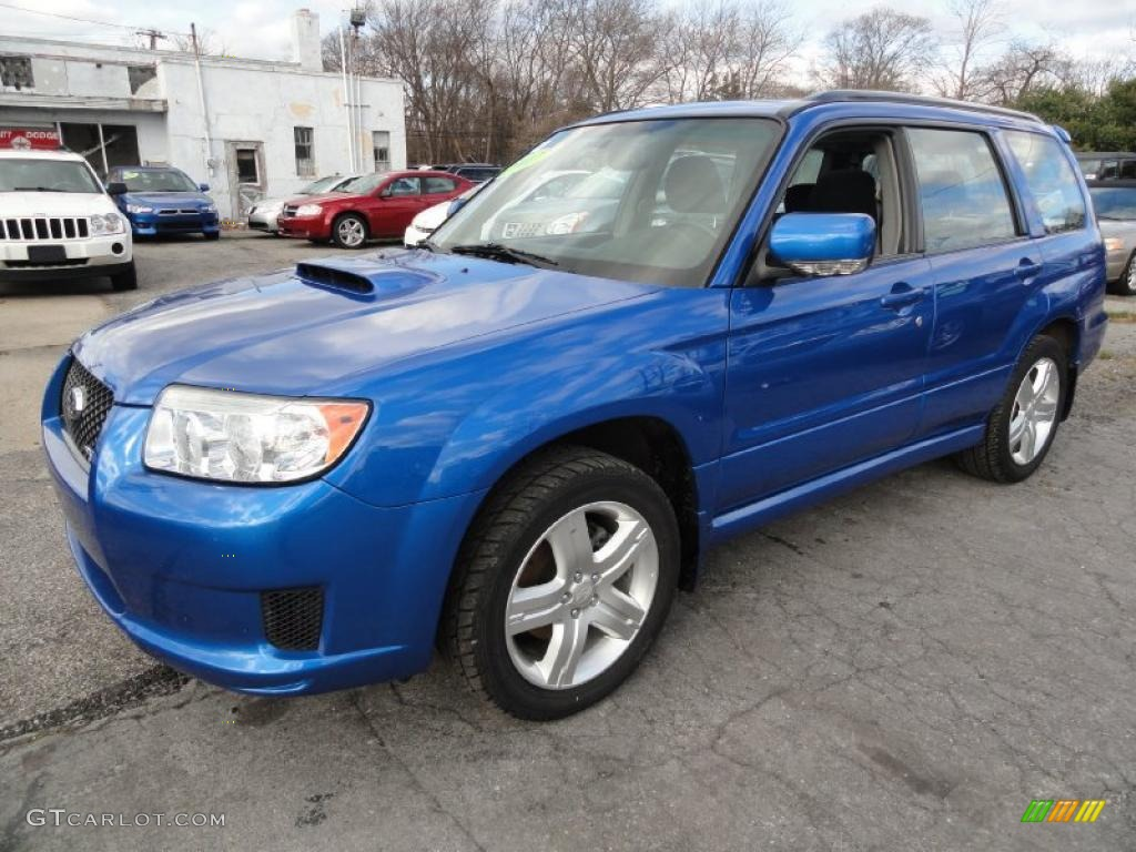 2007 wr blue pearl subaru forester 25 xt sports 41177747