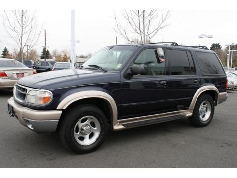 2000 Ford Explorer Eddie Bauer 4x4 Data, Info and Specs