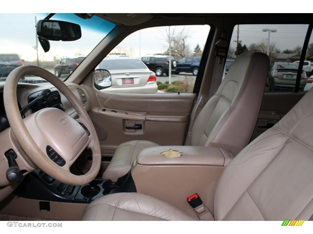 Medium prairie tan interior 2000 ford explorer eddie bauer 4x4 photo 41193926 2000 ford explorer interior parts