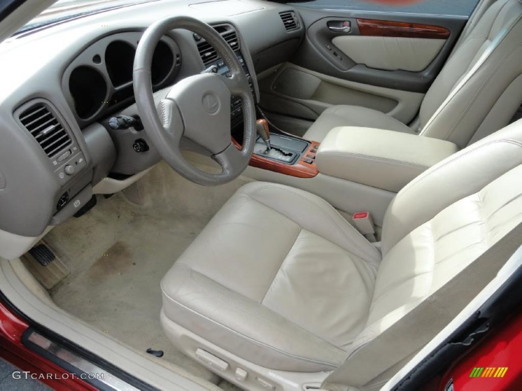 Ivory Interior 2000 Lexus Gs 300 Photo 41197046
