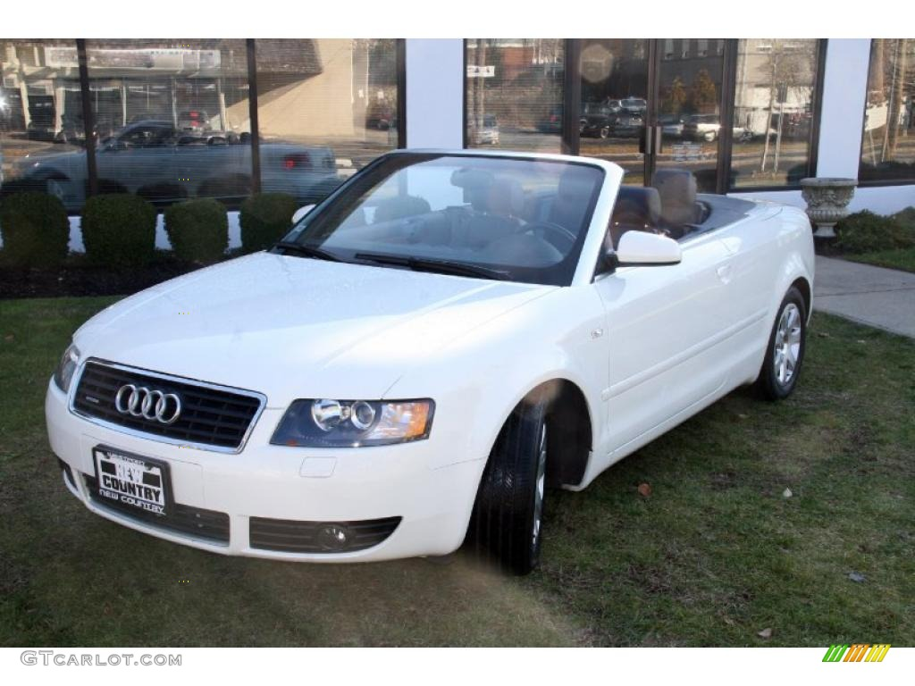 2005 arctic white audi a4 3 0 quattro cabriolet 41177844. Black Bedroom Furniture Sets. Home Design Ideas