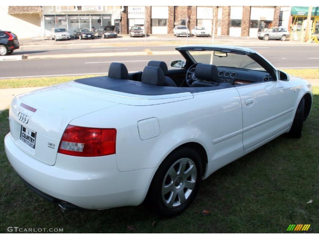 arctic white 2005 audi a4 3 0 quattro cabriolet exterior photo 41198167. Black Bedroom Furniture Sets. Home Design Ideas
