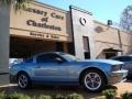 2006 Windveil Blue Metallic Ford Mustang GT Premium Coupe  photo #9