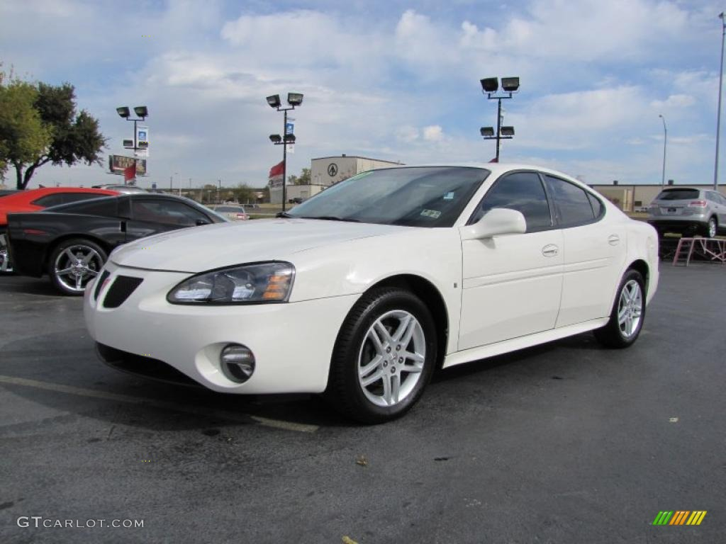 ivory white 2007 pontiac grand prix gt sedan exterior photo 41206914. Black Bedroom Furniture Sets. Home Design Ideas
