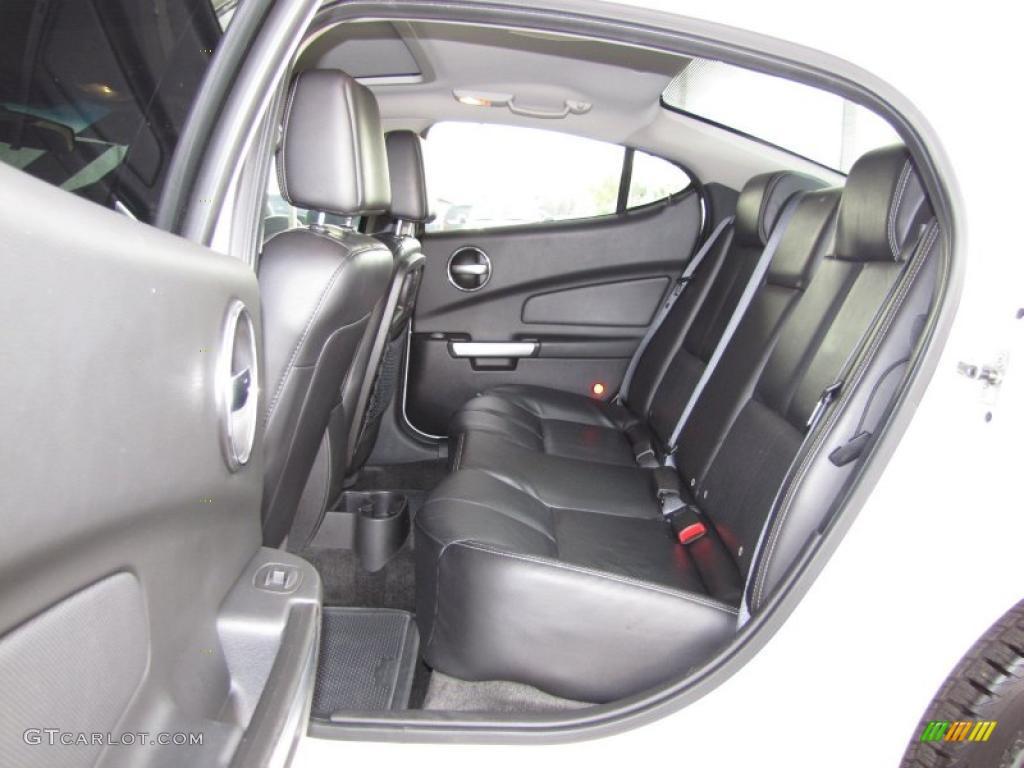 Ebony Interior 2007 Pontiac Grand Prix Gt Sedan Photo