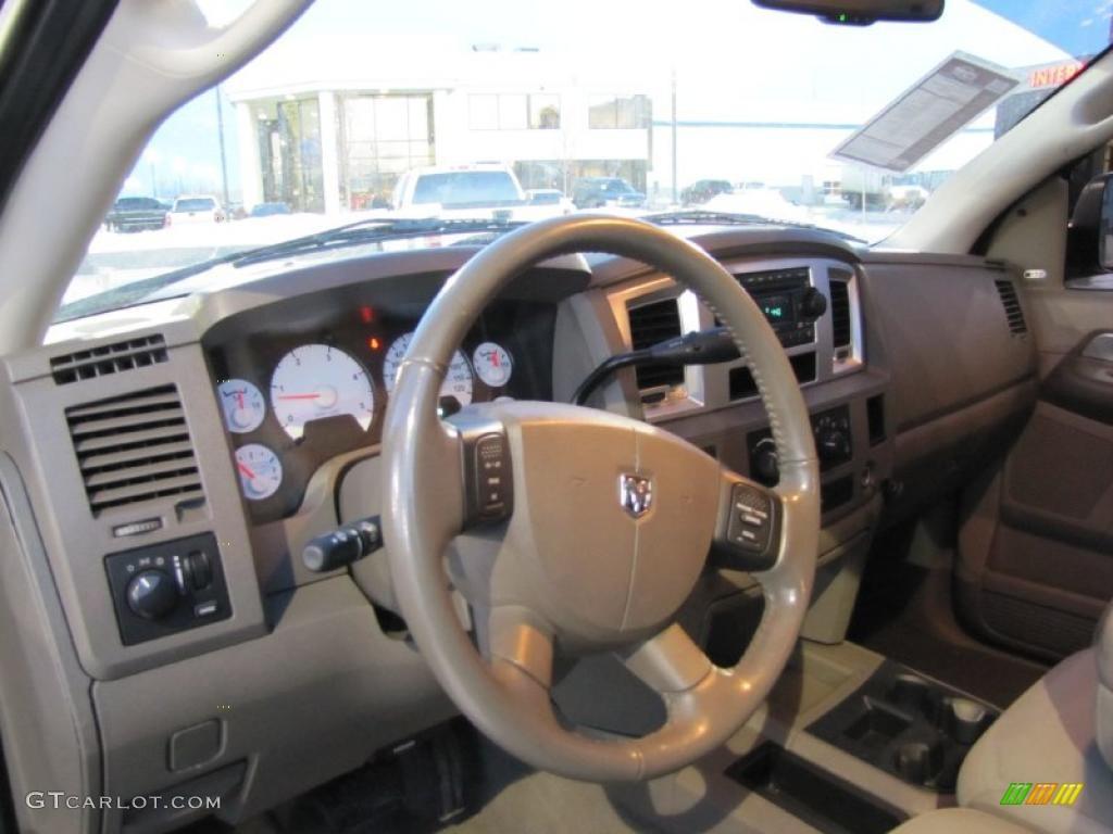 2008 Dodge Ram 3500 Laramie Mega Cab 4x4 Dually Interior Color Photos