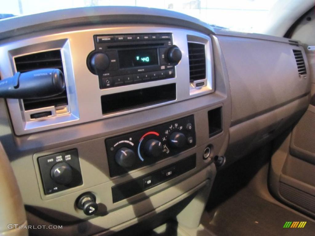 2008 Dodge Ram 3500 Laramie Mega Cab 4x4 Dually Controls Photo #41219827
