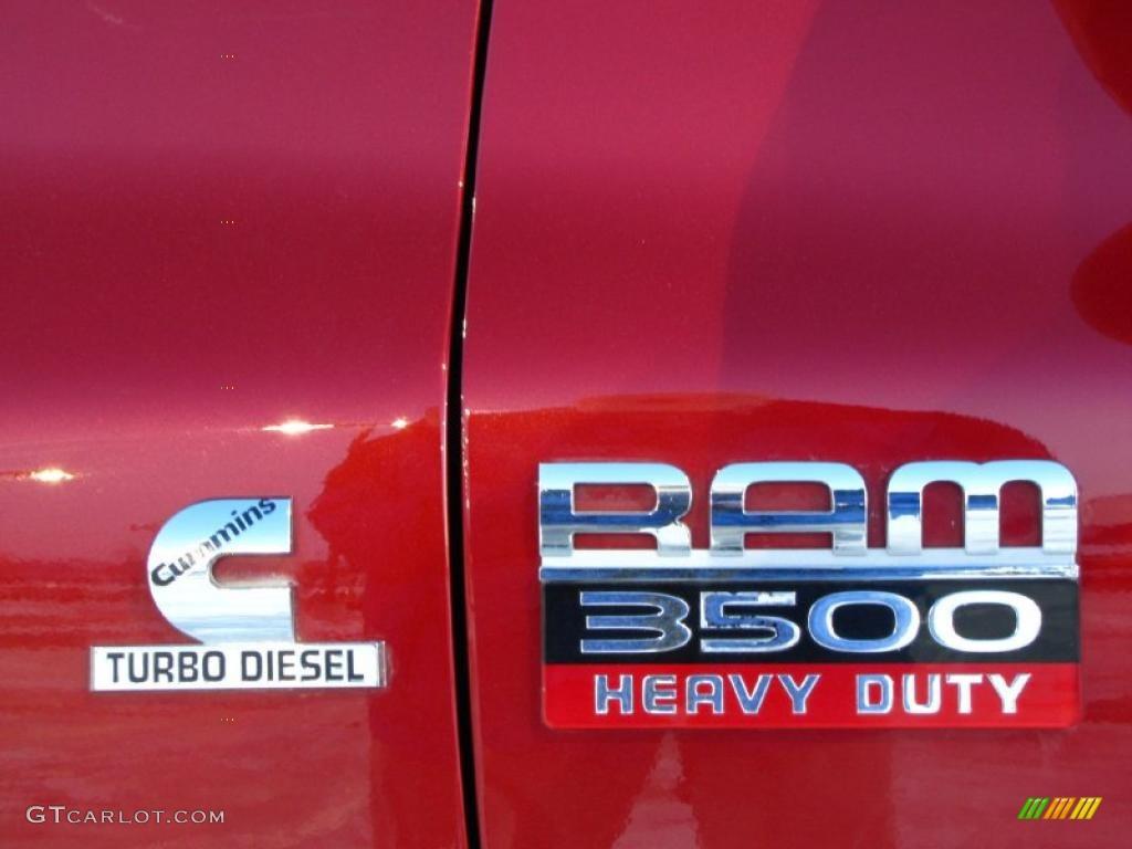 2008 Dodge Ram 3500 Laramie Mega Cab 4x4 Dually Marks and Logos Photos