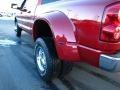2007 Inferno Red Crystal Pearl Dodge Ram 3500 Laramie Mega Cab 4x4 Dually  photo #14