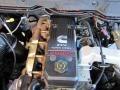 2007 Inferno Red Crystal Pearl Dodge Ram 3500 Laramie Mega Cab 4x4 Dually  photo #21