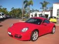 Guards Red 2007 Porsche Cayman Gallery