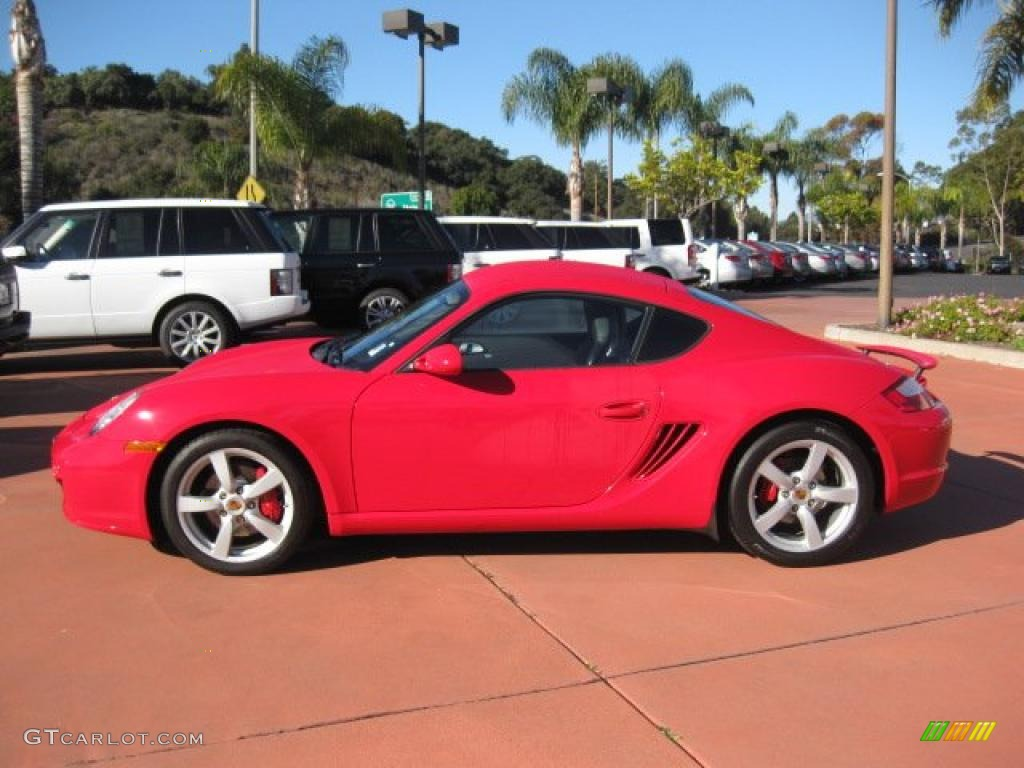 guards red 2007 porsche cayman s exterior photo 41221763. Black Bedroom Furniture Sets. Home Design Ideas