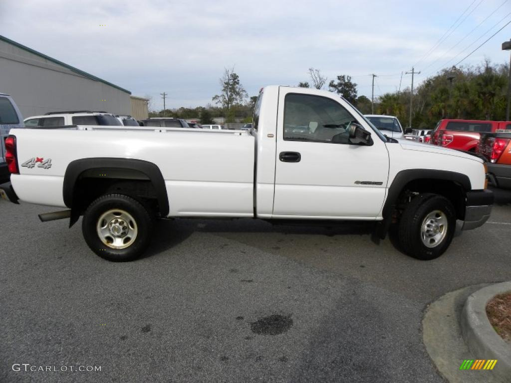 summit white 2004 chevrolet silverado 2500hd regular cab 4x4 exterior photo 41223263. Black Bedroom Furniture Sets. Home Design Ideas