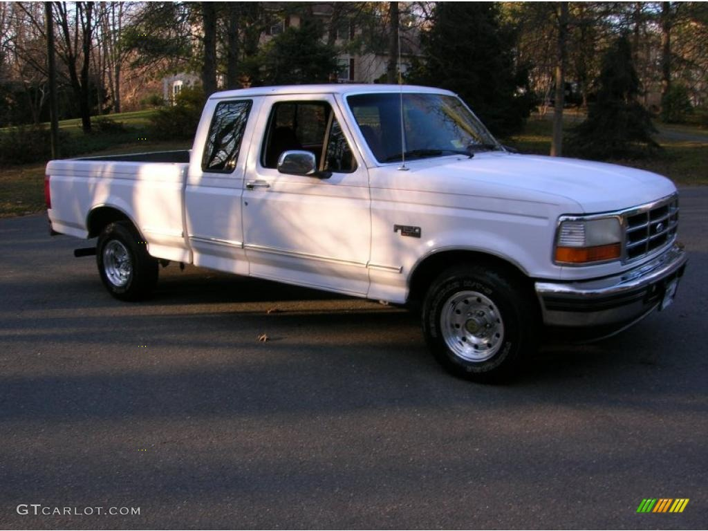 1996 oxford white ford f150 xlt extended cab 41177620 photo 2 car color galleries. Black Bedroom Furniture Sets. Home Design Ideas