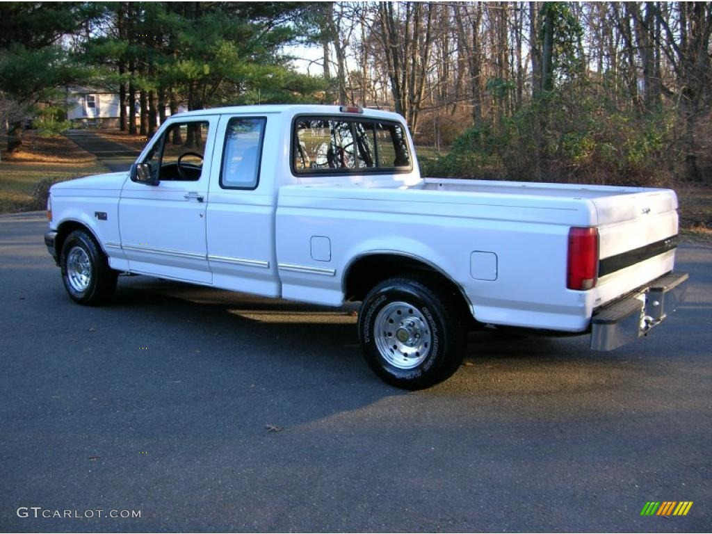 1996 oxford white ford f150 xlt extended cab 41177620 photo 4 car color galleries. Black Bedroom Furniture Sets. Home Design Ideas