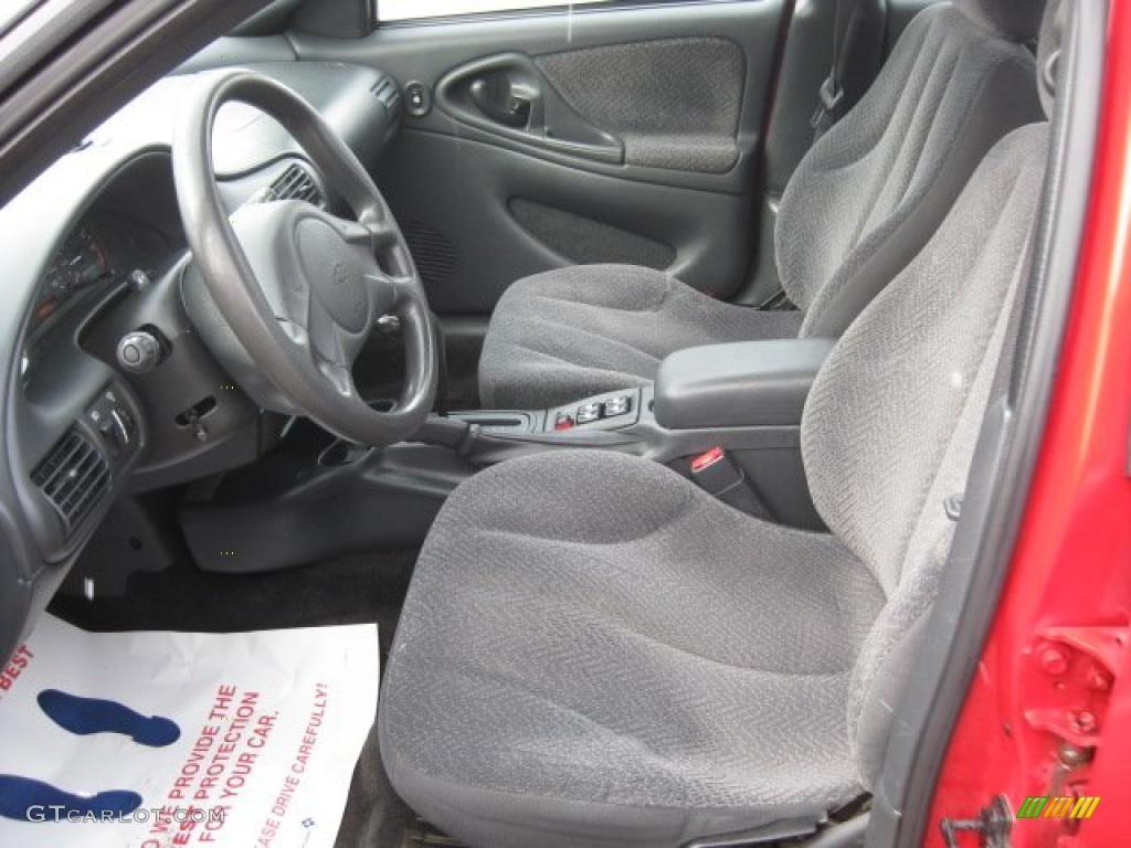 Graphite Gray Interior 2003 Chevrolet Cavalier LS Sport Sedan ...