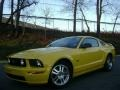 Screaming Yellow 2006 Ford Mustang GT Premium Coupe Exterior