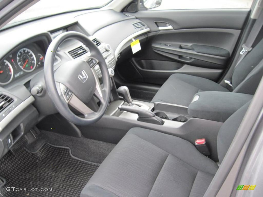 Perfect Gray Interior 2011 Honda Accord LX P Sedan Photo #41230303