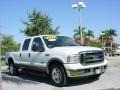 Oxford White 2006 Ford F250 Super Duty Lariat Crew Cab