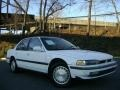 Frost White 1991 Honda Accord LX Sedan