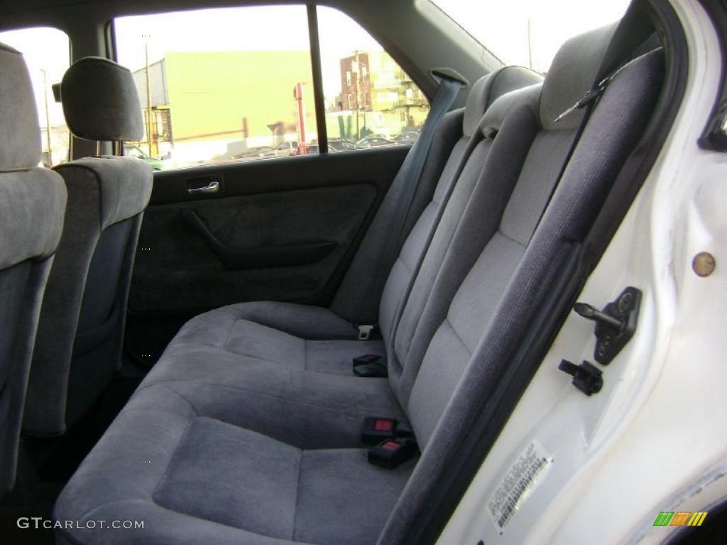 Gray Interior 1991 Honda Accord Lx Sedan Photo 41247917