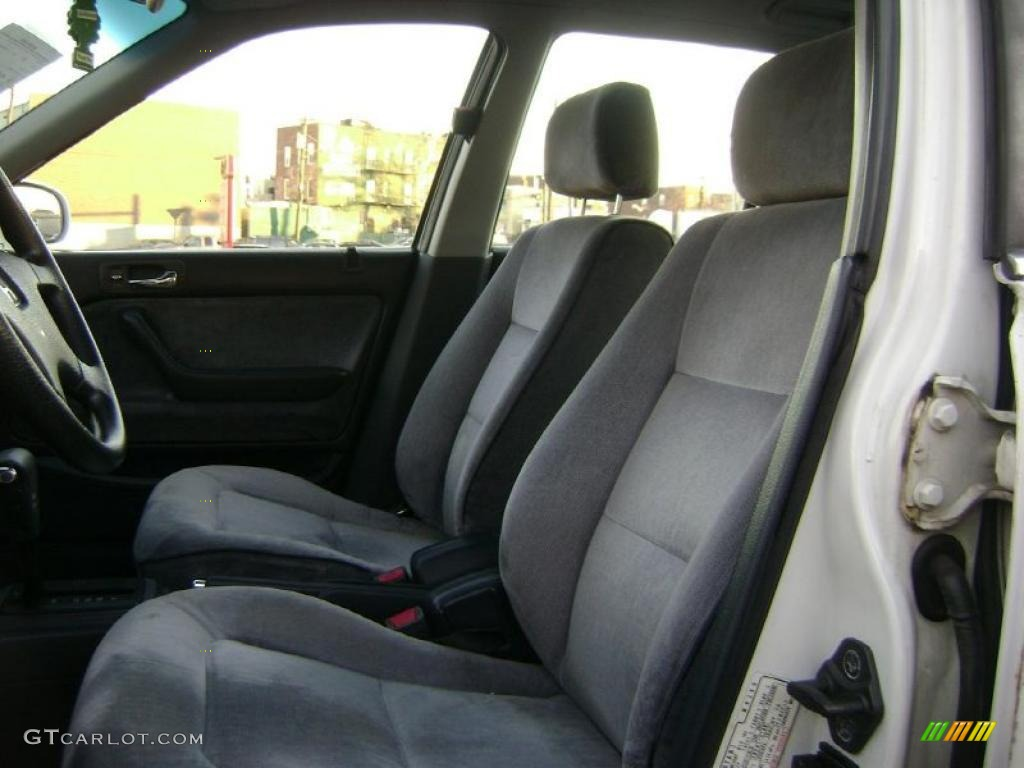 1991 honda accord lx sedan interior photos