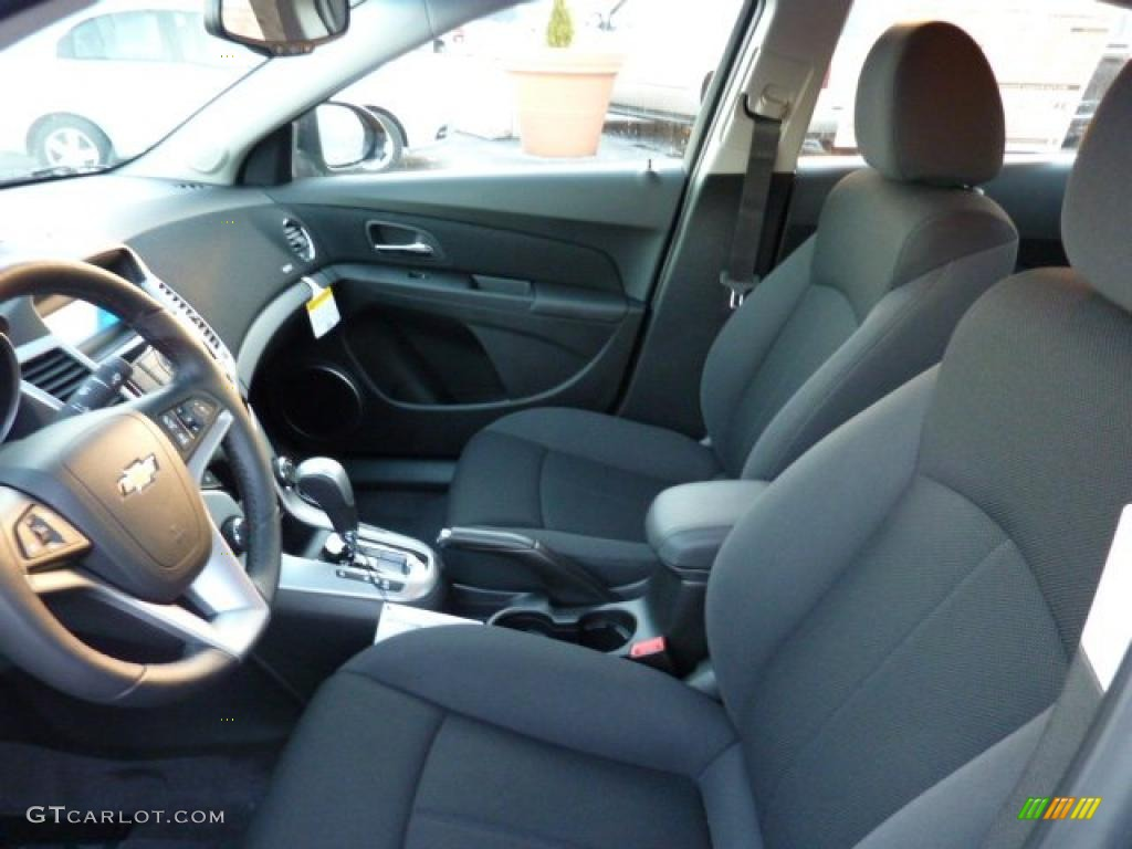 Jet Black Interior 2011 Chevrolet Cruze Lt Photo 41254285