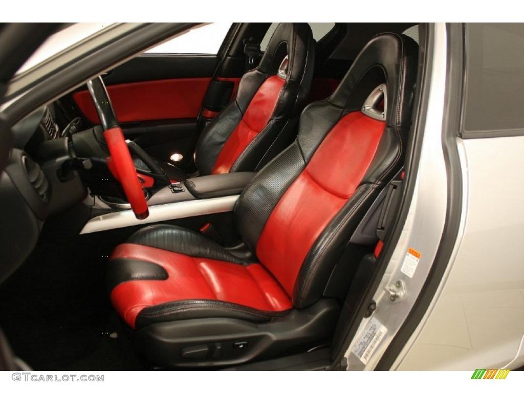 black/red interior 2004 mazda rx-8 grand touring photo #41254957