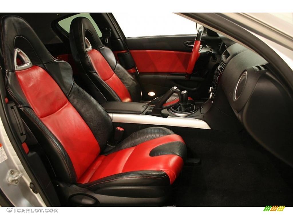 Black Red Interior 2004 Mazda Rx 8 Grand Touring Photo