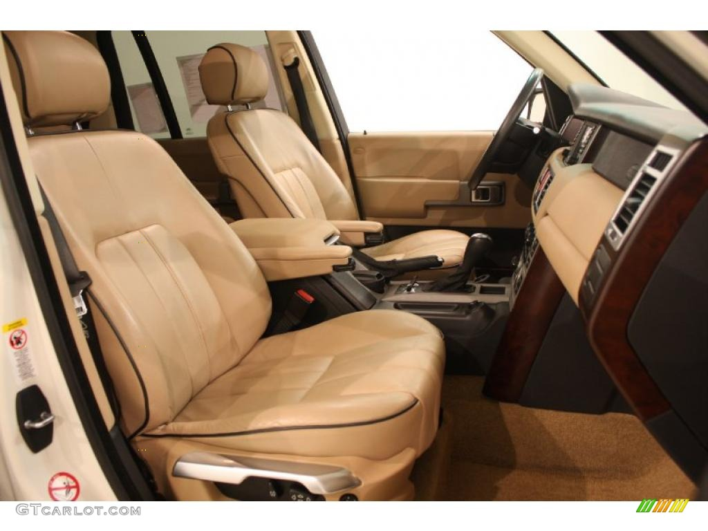sand jet black interior 2003 land rover range rover hse photo 41255365. Black Bedroom Furniture Sets. Home Design Ideas