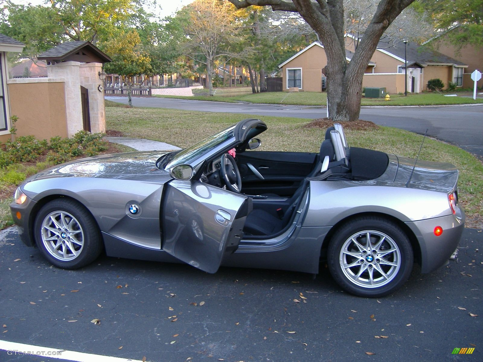 2005 Sterling Grey Metallic Bmw Z4 2 5i Roadster 41260