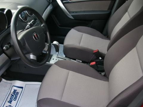 More 2009 Pontiac G3 Interior Photos
