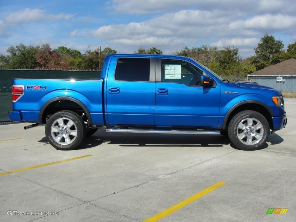 Blue Flame Metallic 2010 Ford F150 Fx4 Supercrew 4x4 Exterior Photo 41269997