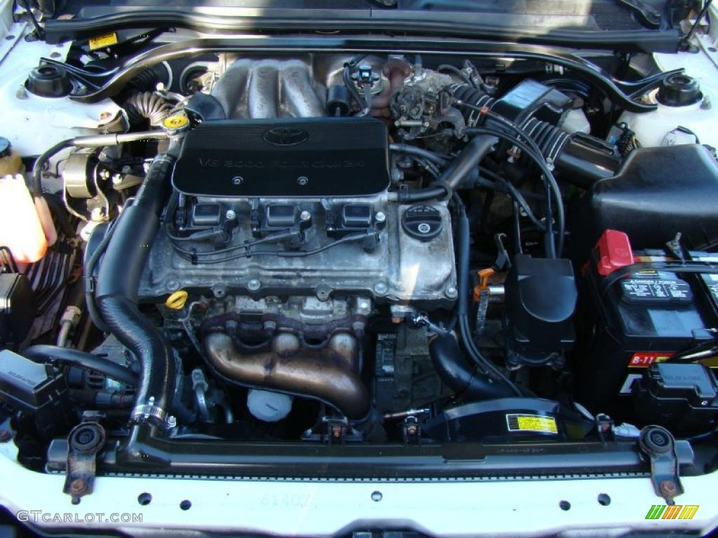 1999 Toyota Solara Sle V6 Coupe 3 0 Liter Dohc 24 Valve Engine Photo 41270925