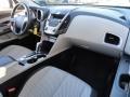 Jet Black/Light Titanium Dashboard Photo for 2010 Chevrolet Equinox #41271401