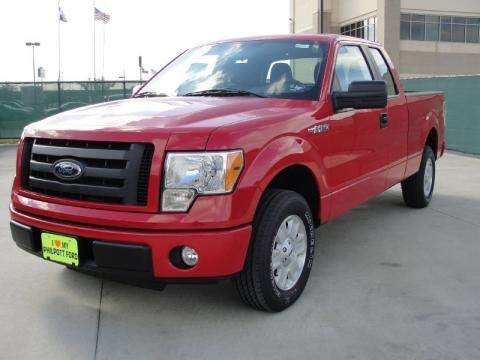 2010 Ford F150 STX SuperCab Data, Info and Specs