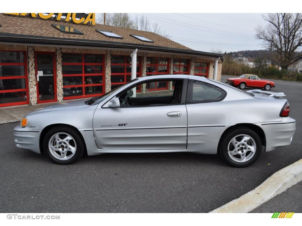 galaxy silver metallic 2002 pontiac grand am gt coupe. Black Bedroom Furniture Sets. Home Design Ideas
